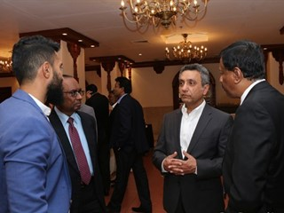 MCB Bank hosted a dinner for key customers to commemorate the visit of MCB Bank President Mr. Imran Maqbool to Sri Lanka. The event was held on 21st February 2018 at The Kingsbury Hotel, Colombo. Country general Manager Mr. Aali Shaft and other senior officials of the bank participated in the event.