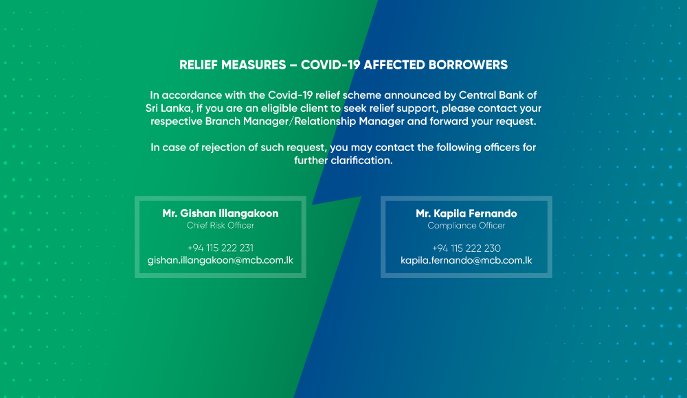 COVID-19 Notice for borrowers